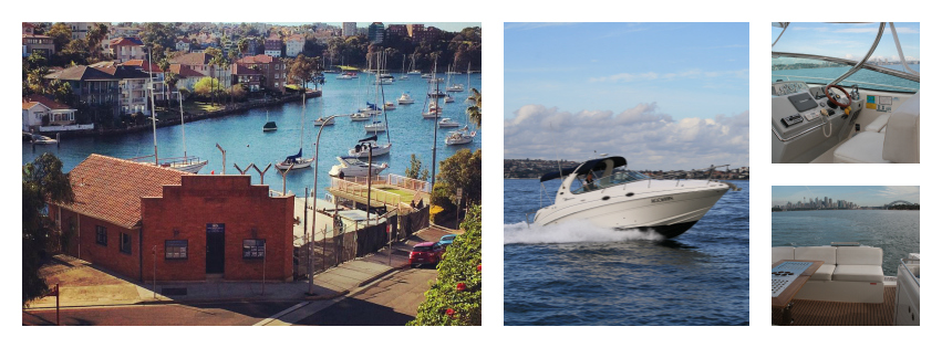 Sydney Harbour Sales Collage