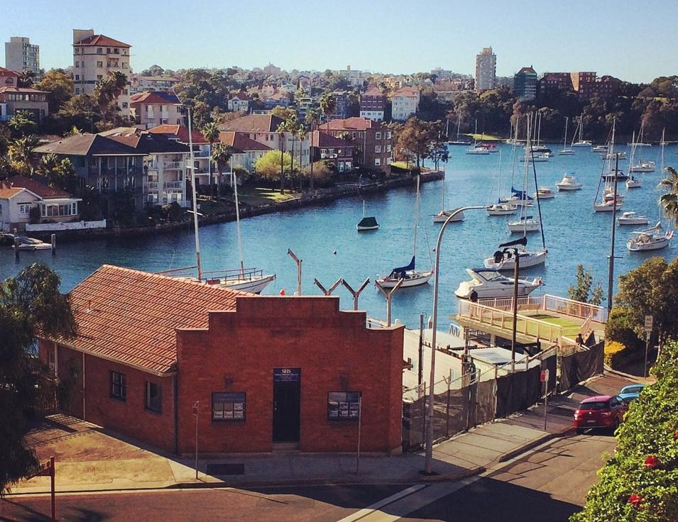 SHS Marine office from Willoughby St, Kirribilli
